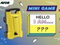 Mini Game:  Máy xịt rửa Lavor SMART120 MIỄN PHÍ là của bạn